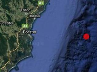 Earthquake of Forster in NSW on April 19 2017
