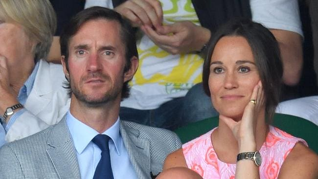 James Matthews and Pippa Middleton will wed tomorrow. Picture: Karwai Tang
