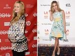 Motherhood certainly agrees with Aussie actress Teresa Palmer as she attends the premiere of 'The Ever After' at the 2014 Los Angeles Film Festival. Palmer gave birth to son Bodhi Rain on February 17. 2014. Picture: Getty