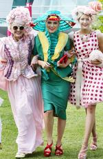 The 2016 Emirates Melbourne Cup day of racing at Flemington Racecourse MelbourneCup 2016: Lynnette Pater, Lisi Suleman and Jessica Parish. Picture Norm Oorloff