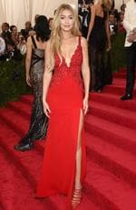 """Gigi Hadid attends the Met Gala 2015 """"China: Through The Looking Glass"""". Picture: Getty"""