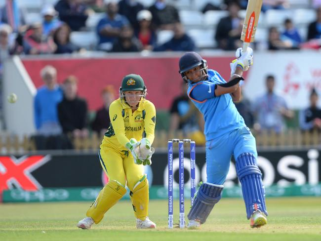 Australia were hurt by a couple of big innings from batters during the World Cup. India's Harmanpreet Kaur almost single-handedly defeating them in the semi-final. Pic: Getty Images