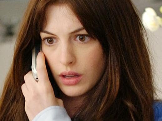 Devil Wears Prada Anne Hathaway in a scene from the film, The Devil Wears Prada Picture: Supplied