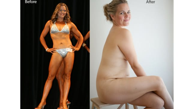 The before and after photos that sparked a movement. Image: Taryn Brumfitt