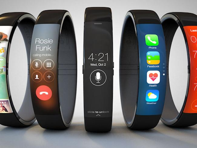 Note: Not an iWatch. Here's what some speculate the watch could look like.