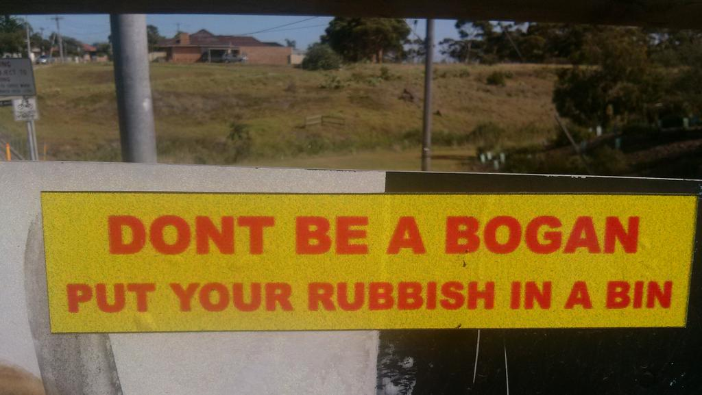 Mystery Sticker Campaign Rubbishes Brimbank Bogans Leader