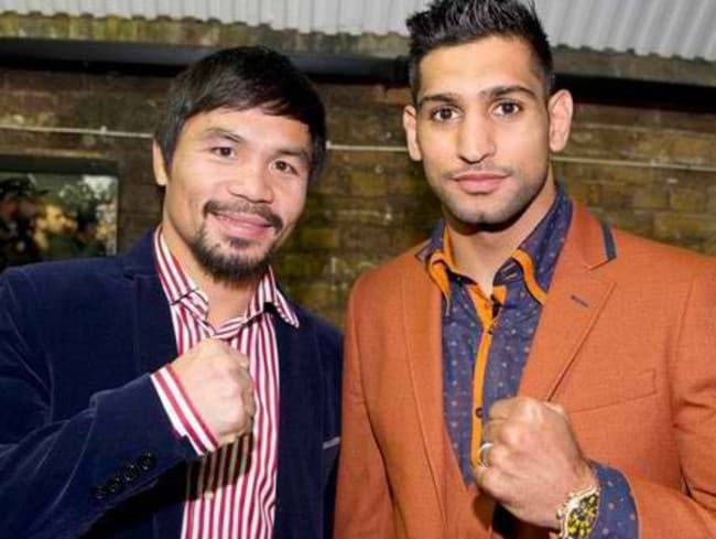 A rumoured fight between Pacquiao and Amir Khan has dissipated.