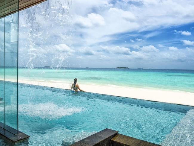 Four Seasons at Landaa Giraavaru, Maldives.