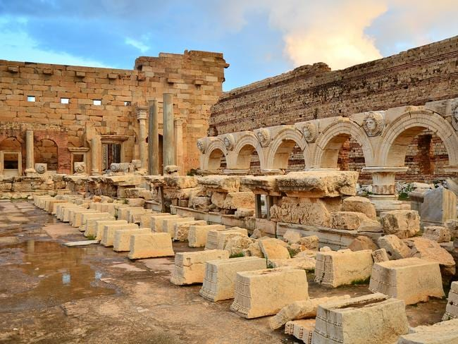Leptis Magna. Picture: Ben Sutherland