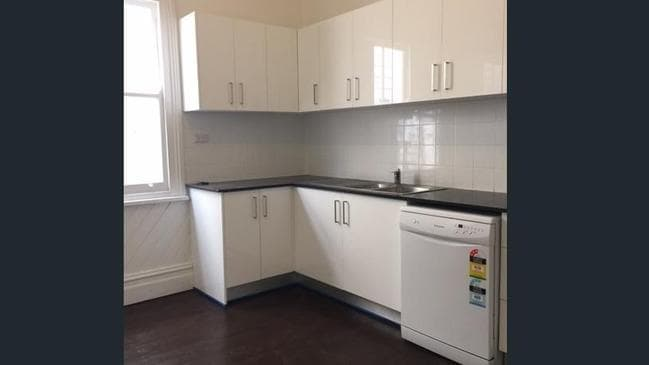 And a modest new kitchen has been installed.