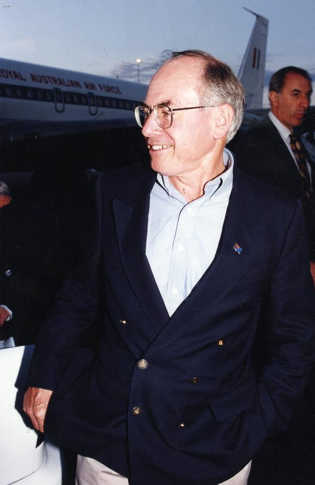 John Howard shortly before being elected in 1996, after which he became the nation's second-longest serving PM.