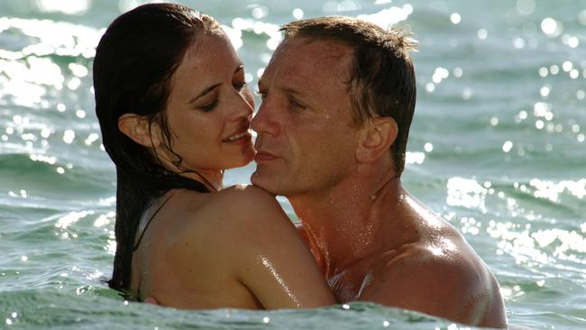 Green was the woman who tamed Bond in Daniel Craig's first outing, 2006's Casino Royale. Picture: Sony Pictures