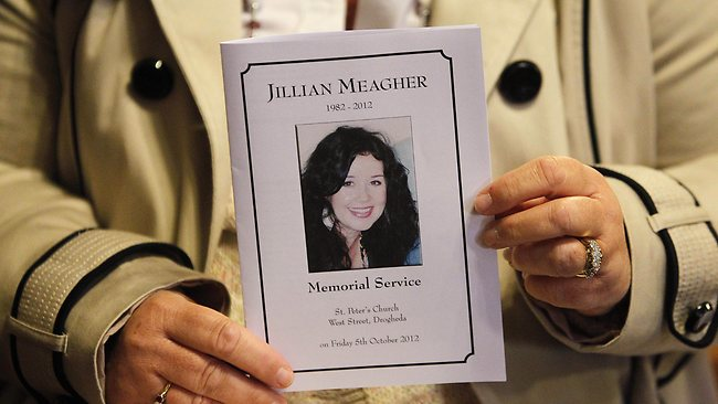Service for Jill Meagher in Ireland