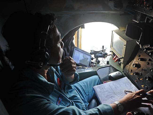 The search for missing Malaysia Airlines flight MH370. Picture: AFP