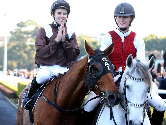Tommy Berry aboard Sweet Idea returns to scale after his success. Picture: Getty Images