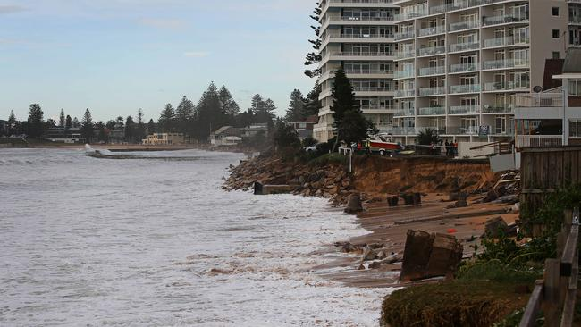 Collaroy looks like a totally different beach. Picture: Adam Yip / The Australian