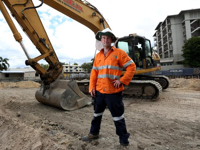 Young Australians may find it easy to pick up work as a tradie but this may make it harder for them in the future. Picture: Stewart McLean