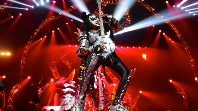 Out there ... Gene Simmons is one of the wild men of rock.