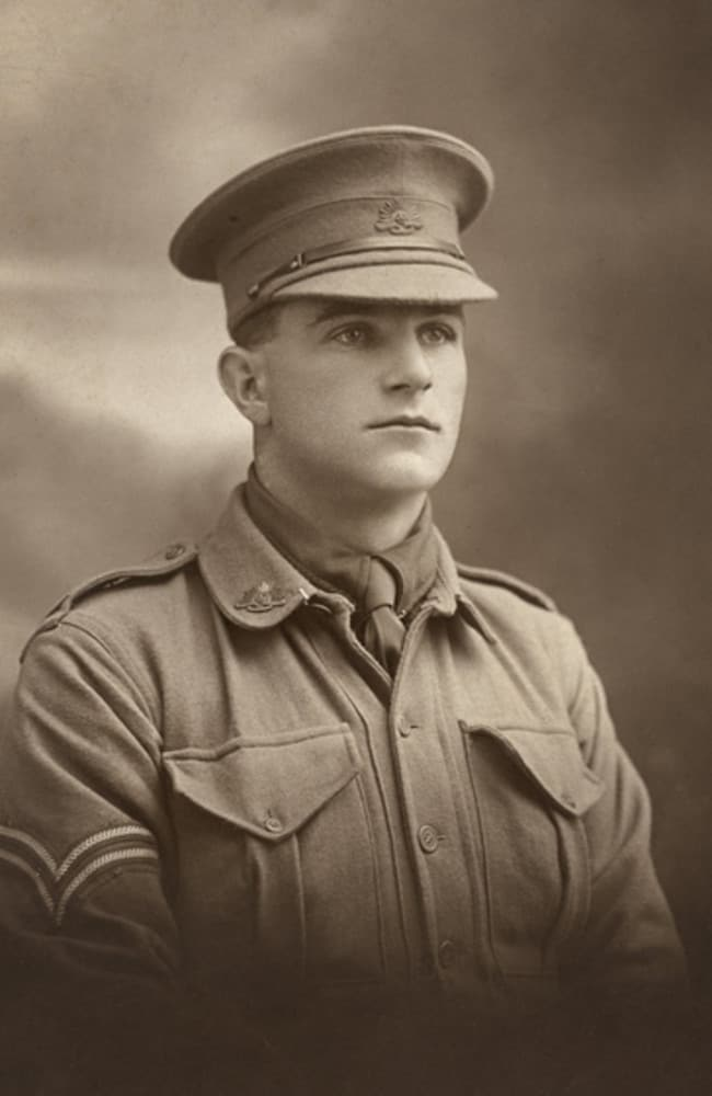 Sergeant David Samuel Anderson born in Bergalia, NSW.