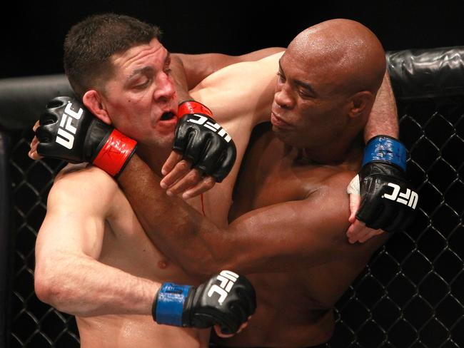 Nick Diaz and Anderson Silva fight at UFC 183.