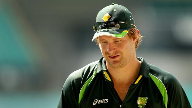 Shane Watson has been struck down by injury again.