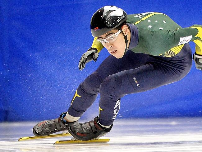 Pierre Boda has a place in the Australian team to compete at the 2014 Wnter Olympics in Sochi. Picture: Nicole Garmston