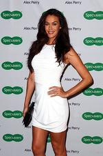 <p>Megan Gale arrives at the Alex Perry 2012 Collection launch at the Marble Bar on February 29, 2012 in Sydney, Australia. (Photo by Ryan Pierse/Getty Images)</p>