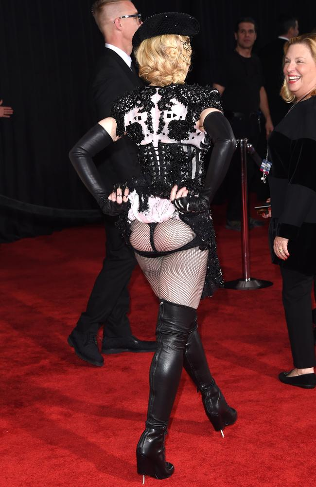 Madonna's, um, ass-ets. Picture: Jason Merritt/Getty Images