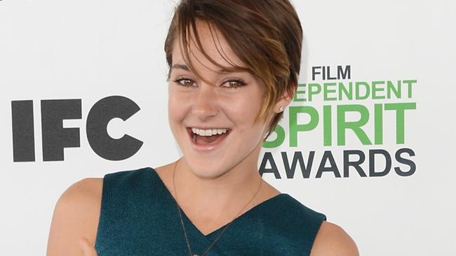 Actress Shailene Woodley.