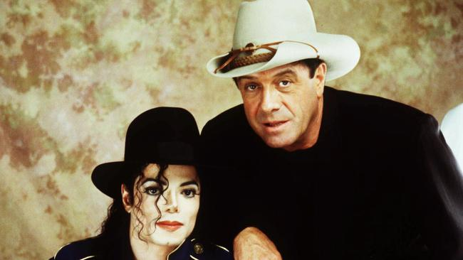 Do yourself a favour ... Molly Meldrum and Michael Jackson shared a friendship and a love of hats.