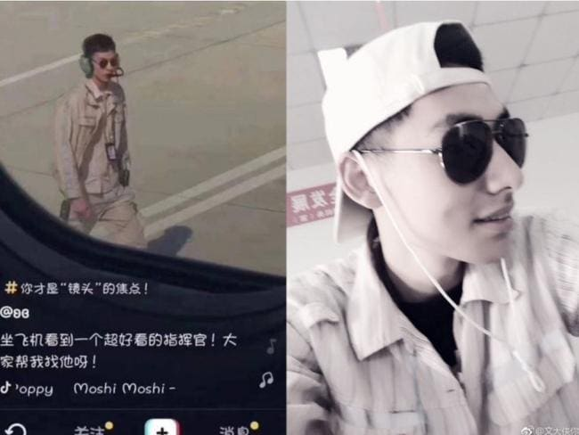The man then took to social media to defend his company and the passenger who filmed him. Picture: Weibo