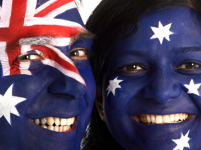 Close relationship .. Australia and the UK have a long history together.
