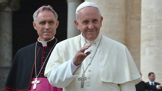 It's unclear if the Pope is a batsman, bowler or all-rounder.
