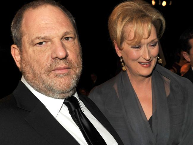 Meryl Streep has hit out at producer Harvey Weinstein. Picture: Kevin Winter/Getty Images