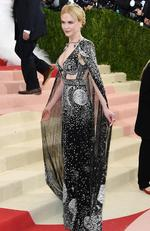 "Nicole Kidman attends the ""Manus x Machina: Fashion In An Age Of Technology"" Costume Institute Gala at Metropolitan Museum of Art on May 2, 2016 in New York City. Picture: Larry Busacca/Getty Images/AFP"