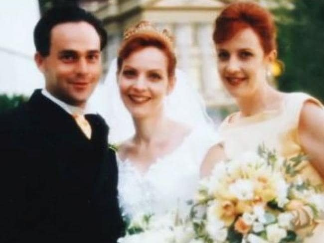 Allison Baden-Clay on her wedding day