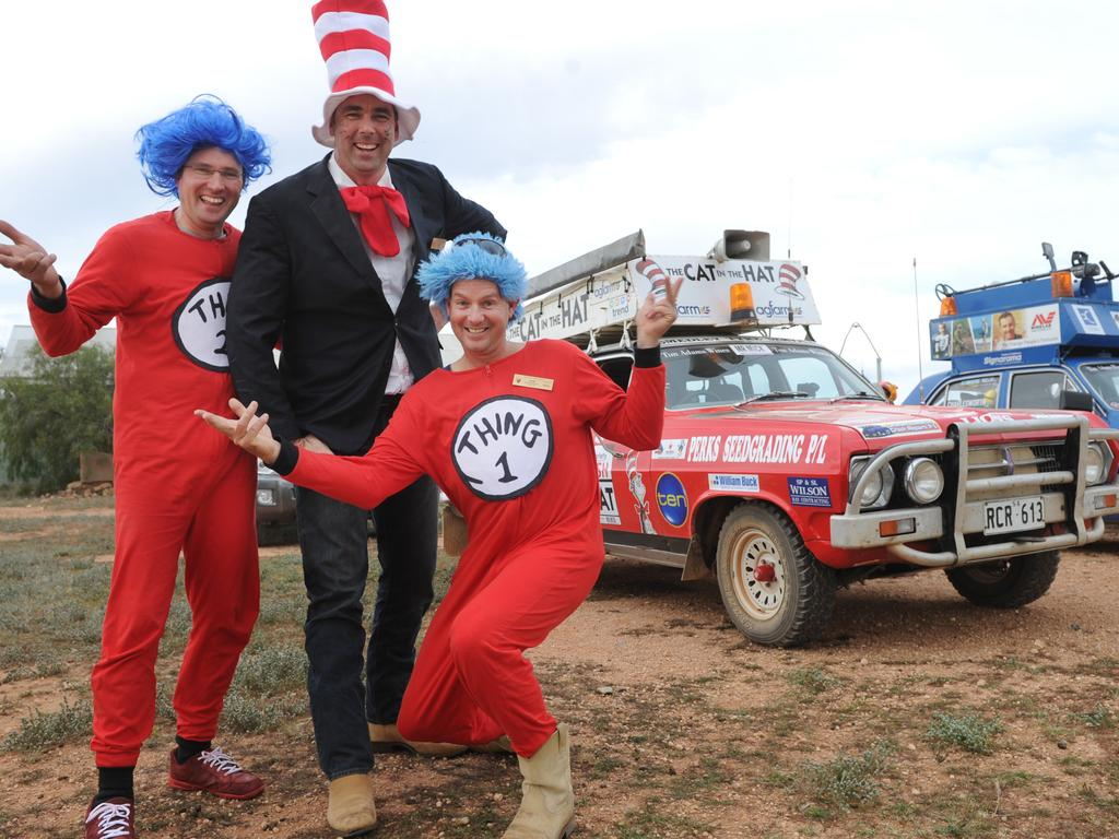Team Cat in the Hat were pleased to arrive at Nanua in western New South Wales. Photo Naomi Jellicoe