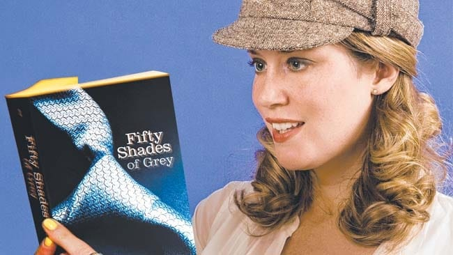 Man stops partner reading 50 shades by squirting brown