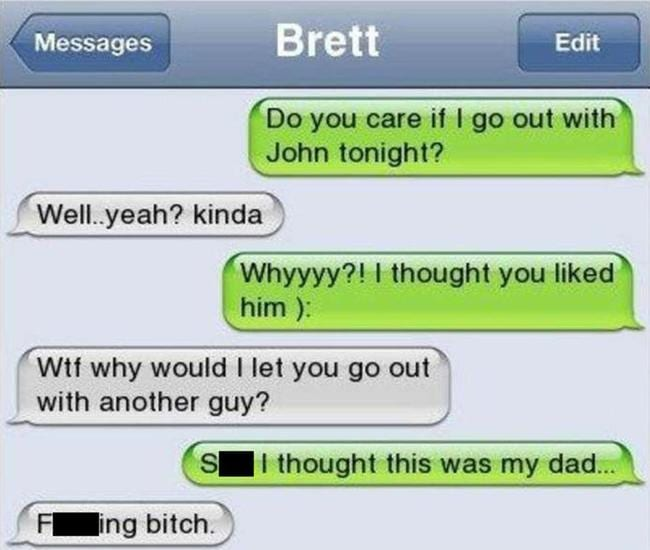 Cheaters text messages
