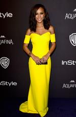 Actress Serayah McNeill attends InStyle and Warner Bros. 73rd Annual Golden Globe Awards Post-Party at The Beverly Hilton Hotel on January 10, 2016 in Beverly Hills, California. Picture: Frazer Harrison/Getty Images/AFP