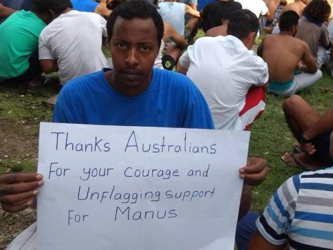 Some of the refugees have been in indefinite detention on Manus Island for years.