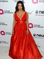 Kim Kardashian attends the 22nd Annual Elton John AIDS Foundation's Oscar Viewing Party. Picture: Getty