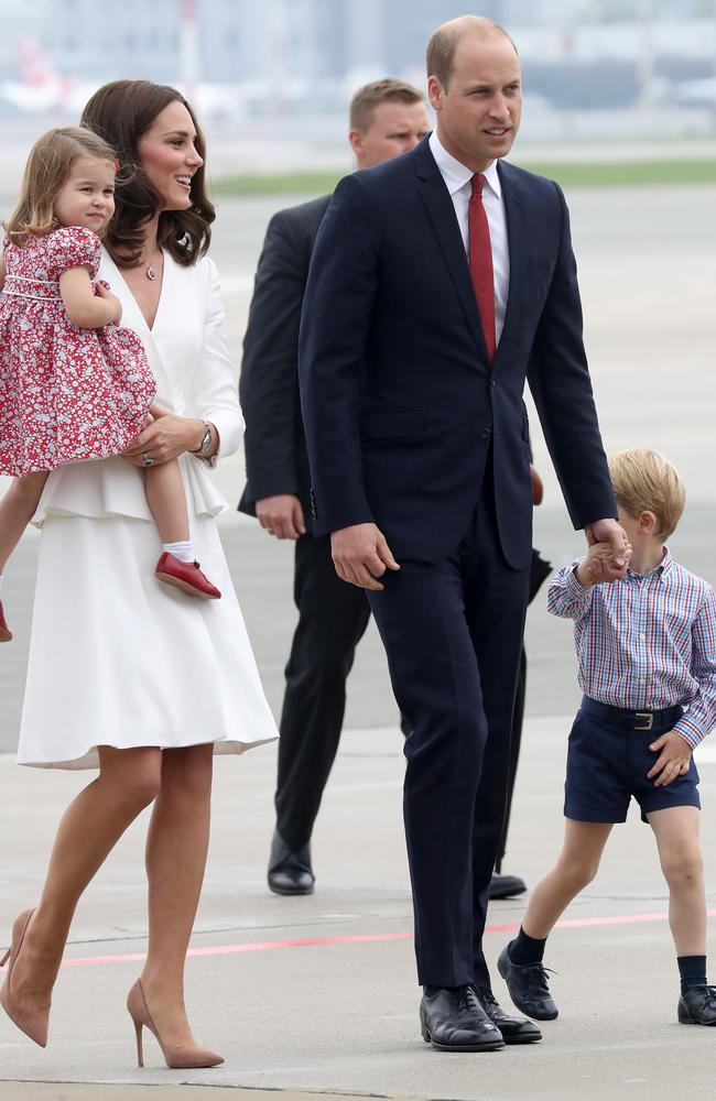 All eyes were on Prince George and Princess Charlotte. Picture: Chris Jackson/Getty Images