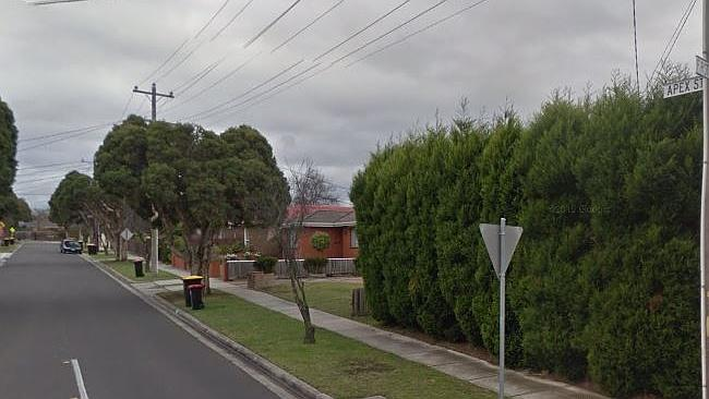 Apex St in Dandenong North. Source: Google Maps.