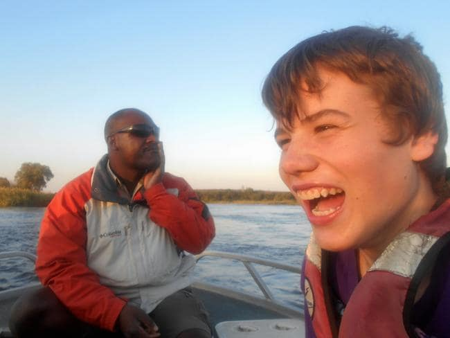 Sam was 14 when he started the journey, an age Dr Best believes autistic children can really benefit from being pushed. Picture: James Best