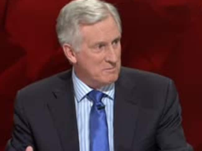 Lessons to be learned ... John Hewson said a line needs to be drawn in the sand over Q&A Zaky Mallah debate. Picture: ABC/Q&A