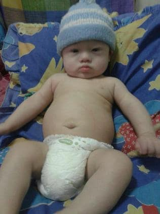 Staying in Thailand ... Surrogate baby Gammy has Down syndrome and a congenital heart condition.