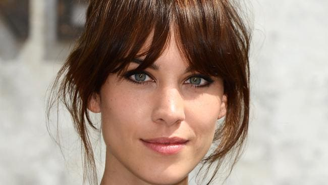 Model Alexa Chung shows off her ?shaggy? cut. Picture: Pascal Le Segretain/Getty Images