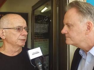 Supplied Editorial Mark Latham interviewing people in Fairfield about multiculturalism