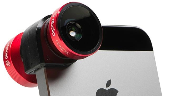 The Olloclip 4-in-1 lens can transform your mobile's camera.